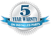 5 year warnty on service